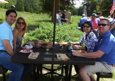 picnic blue